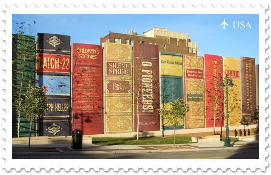 Книжная полка в Канзас-Сити
