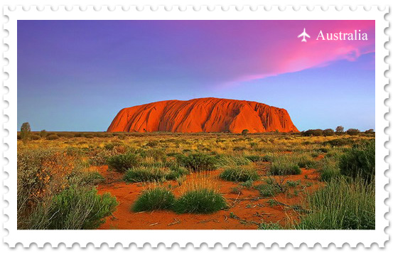 Улуру – в самом сердце Австралии