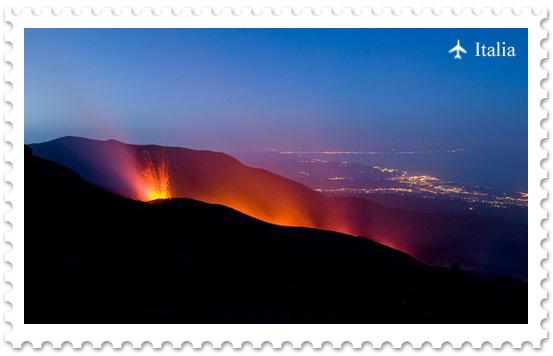 Этна — вулкан в самом сердце Европы