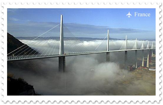 Виадук Мийо – самый высокий автомобильный мост в мире