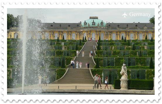 Парк Сан-Суси: Прусский Версаль