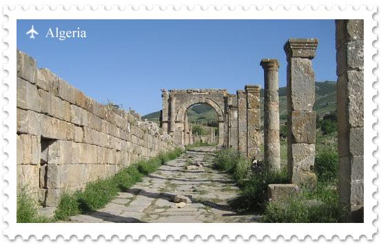Джемила – римское наследие Алжира