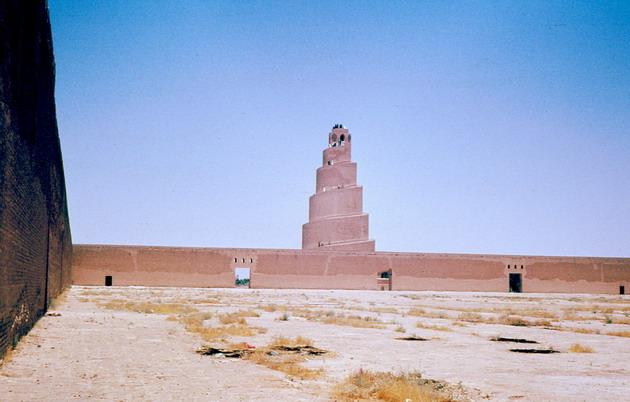Мечеть в Самарре. Ирак