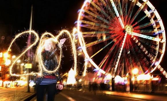 Новый Год 2011. Празднования в разных городах мира