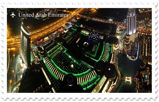 Дубай Молл – самый крупный торговый центр в мире