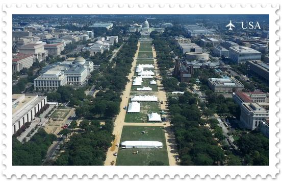 Национальная аллея в Вашингтоне