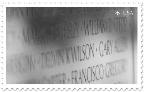 Национальная аллея. Мемориал ветеранам Вьетнамской войны