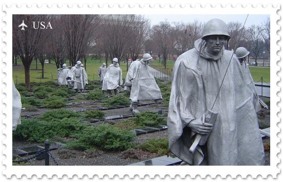 Национальная аллея. Мемориал ветеранам Корейской войны