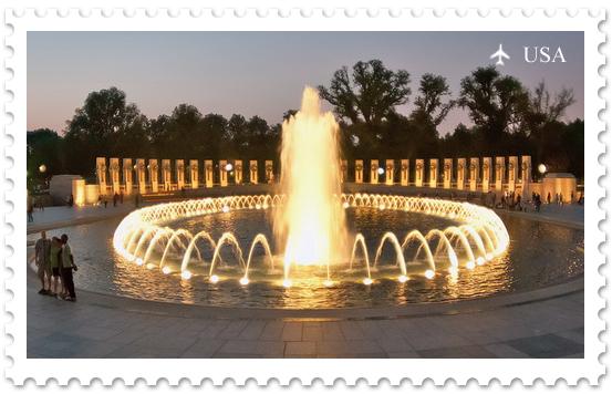 Национальная аллея. Мемориал героям Второй Мировой войны