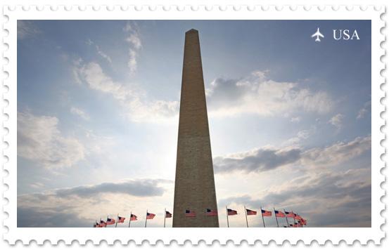 Национальная аллея. Монумент Вашингтона