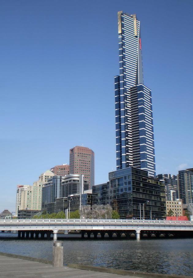 Eureka Skydeck. Мельбурн