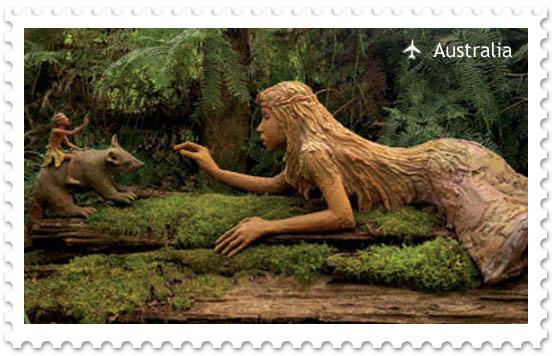 Bruno's Art & Sculpture Garden — сказочный лес в Австралии