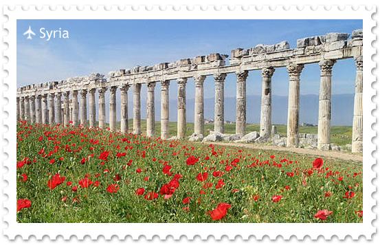 Античный город Апамея