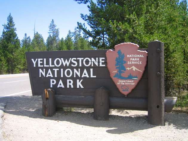 ������������ ���� ����������� (Yellowstone National Park). ���