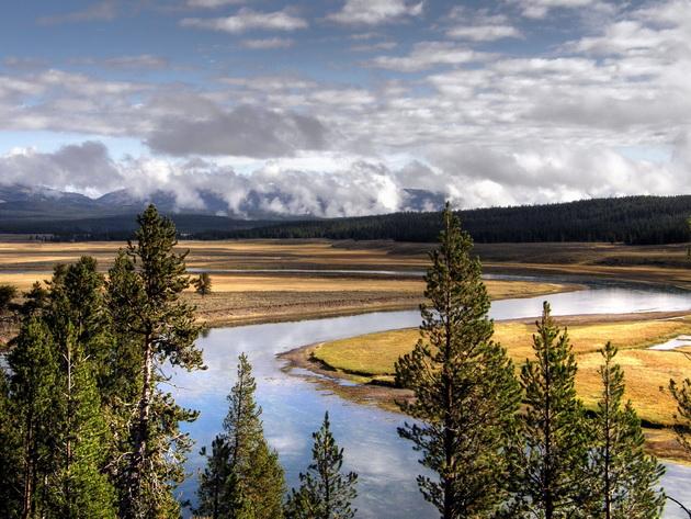 Национальный парк Йеллоустоун (Yellowstone National Park). США