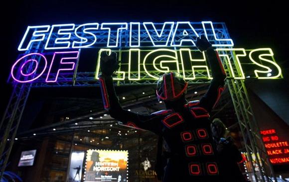 Фестиваль света в Берлине 2011