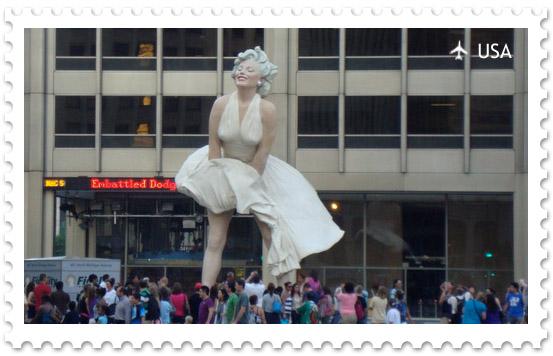Мэрилин Монро в Чикаго