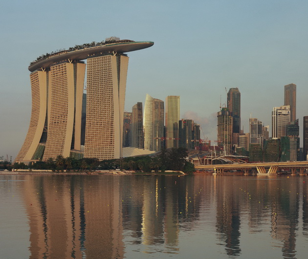 Отель Marina Bay Sands. Сингапур