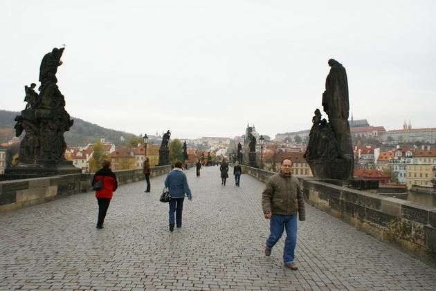 Карлов мост. Прага, Чехия