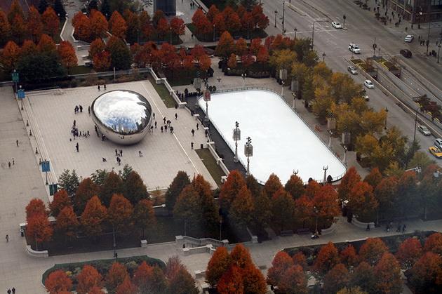 Миллениум-парк. Чикаго, США