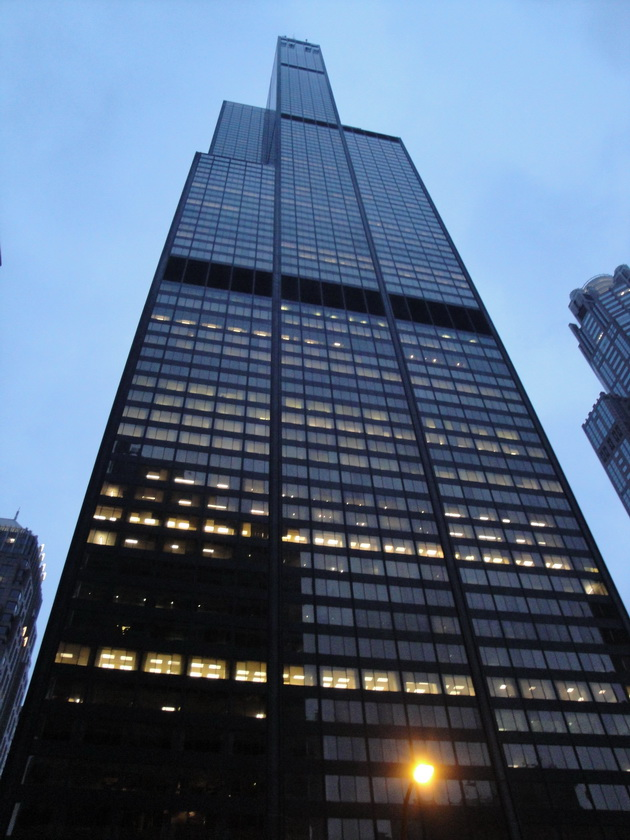 Willis Tower (Sears Tower). Чикаго