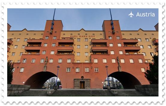 Карл-Маркс-Гоф — самый длинный жилой дом в Европе