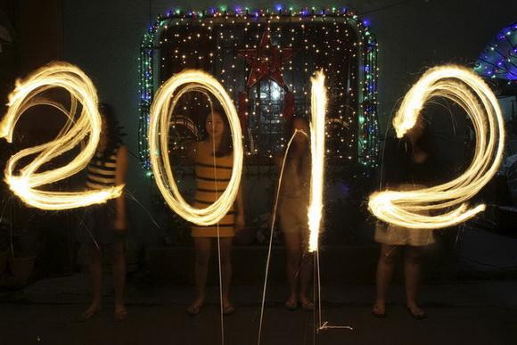 Новый Год 2012. Празднования в разных городах мира