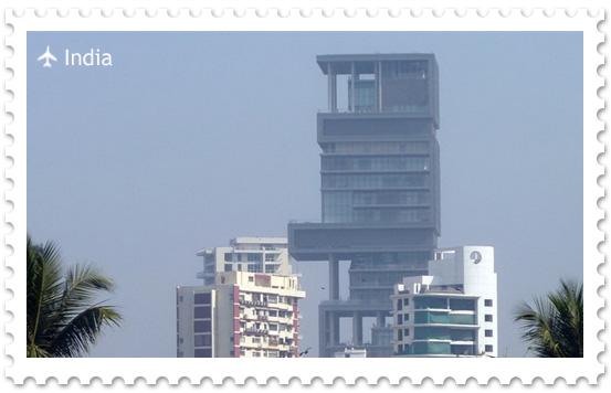 Башня «Антилия» — самый высокий частный дом в мире