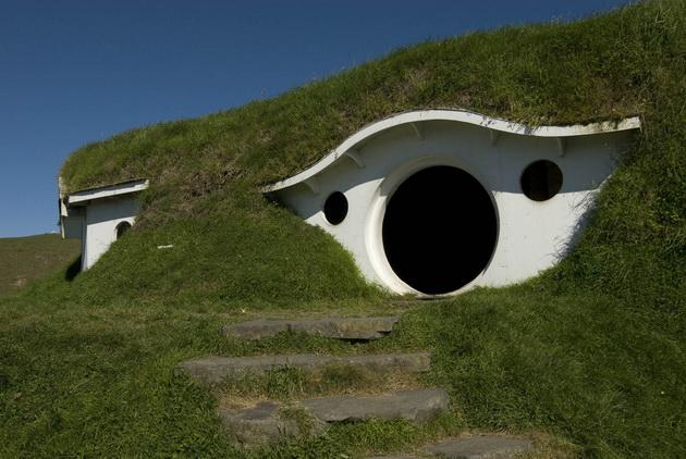 Хоббитон (Hobbiton). Новая Зеландия