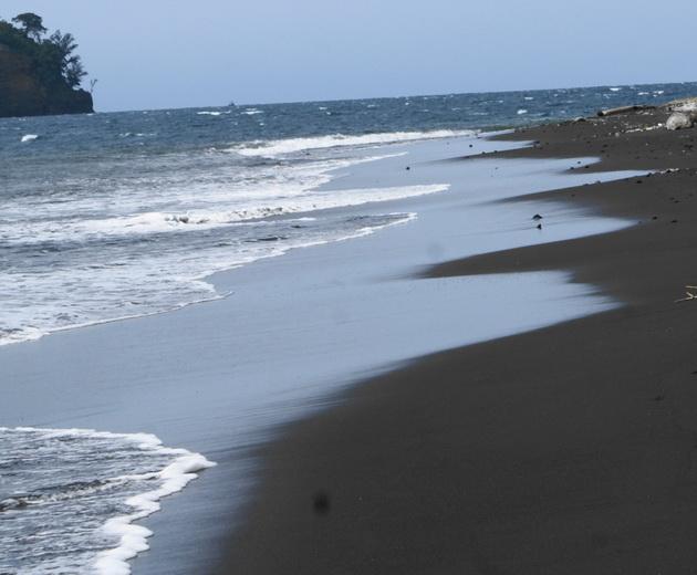 Вулкан Кракатау. Индонезия