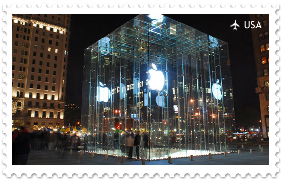 Магазин Apple на 5-й авеню в Нью-Йорке