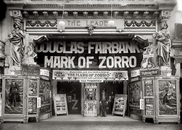 Кино — когда все было черно-белым…
