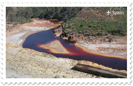 Красная река Рио Тинто