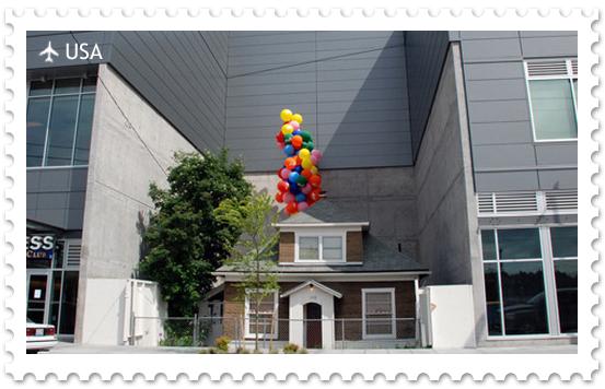 Прообраз дома из мультфильма «Вверх»