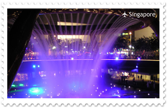 Фонтан Изобилия в Сингапуре