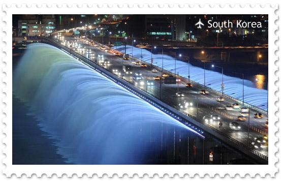 Мост Банпо в Сеуле