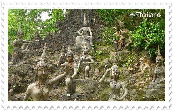 Тайный сад Будды на острове Самуи