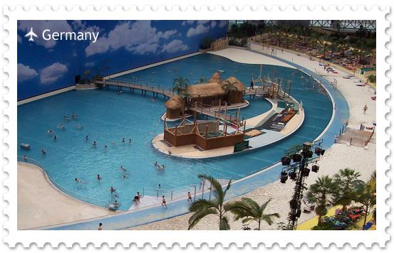 Tropical Islands — самый большой аквапарк Европы