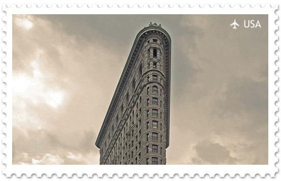 Флэтайрон-билдинг – дом-утюг на Манхеттене