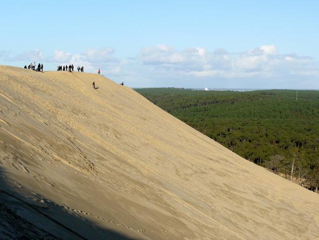 Дюна пила – крупнейшая дюна в европе