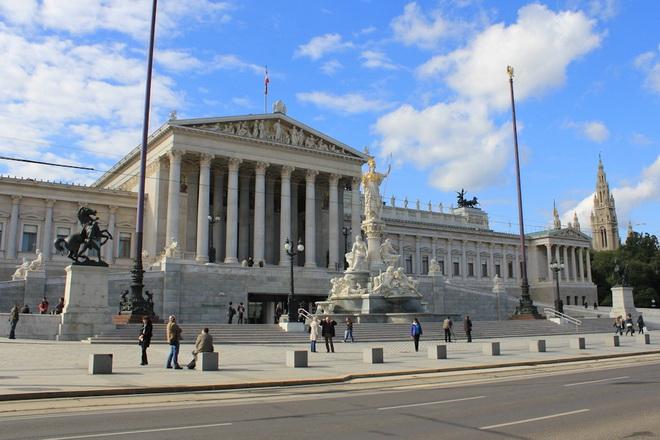 Достопримечательности Вены. Парламент Австрии