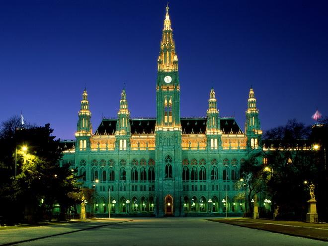 Достопримечательности Вены. Венская ратуша