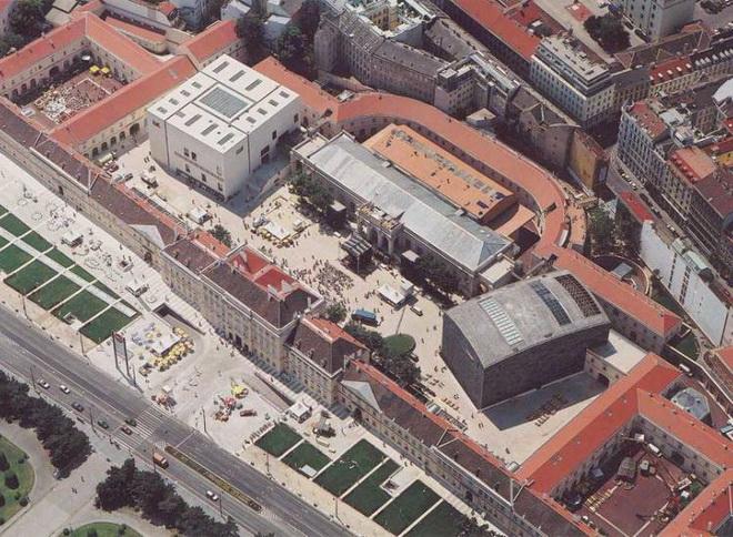 Достопримечательности Вены. Музейный квартал