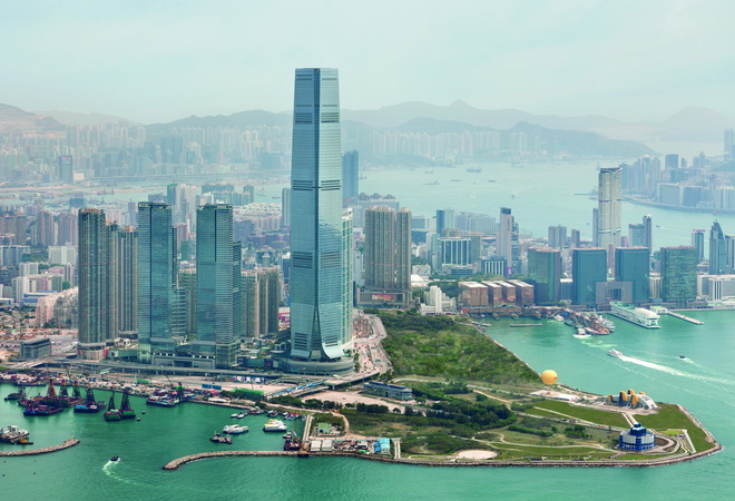 Высочайшие небоскребы мира. International Commerce Center