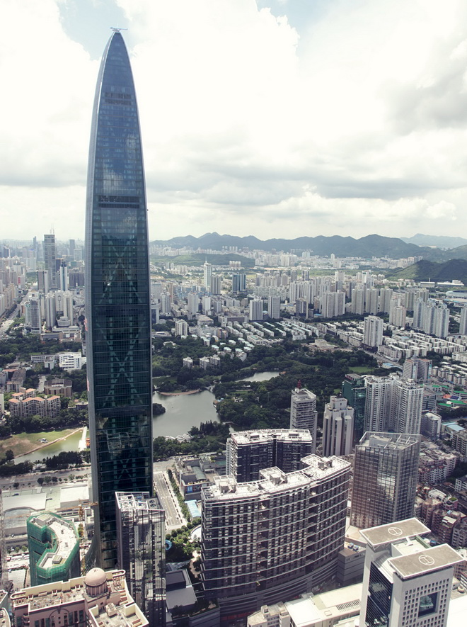 Высочайшие небоскребы мира. Kingkey 100