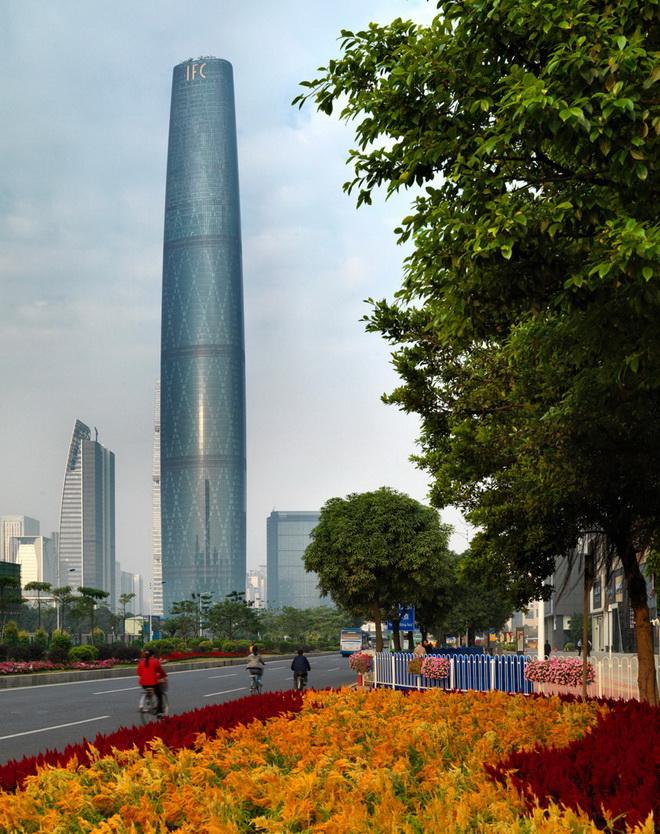 Высочайшие небоскребы мира. Guangzhou International Finance Center