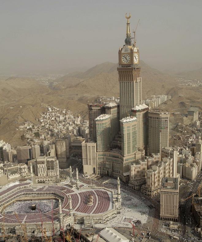 Высочайшие небоскребы мира. Makkah Royal Clock Tower