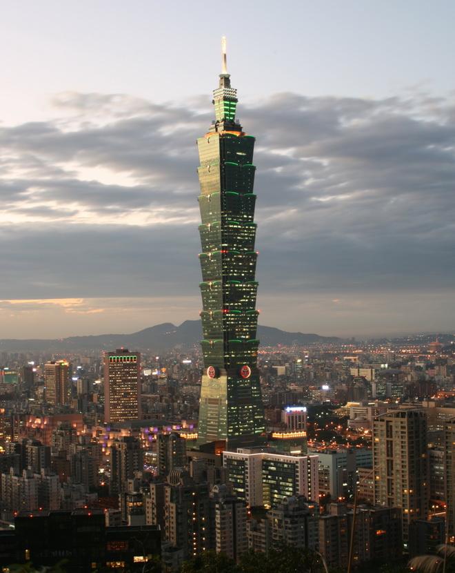 Высочайшие небоскребы мира. Taipei 101