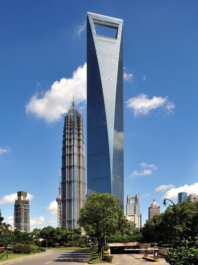 Высочайшие небоскребы мира. Shanghai World Financial Center
