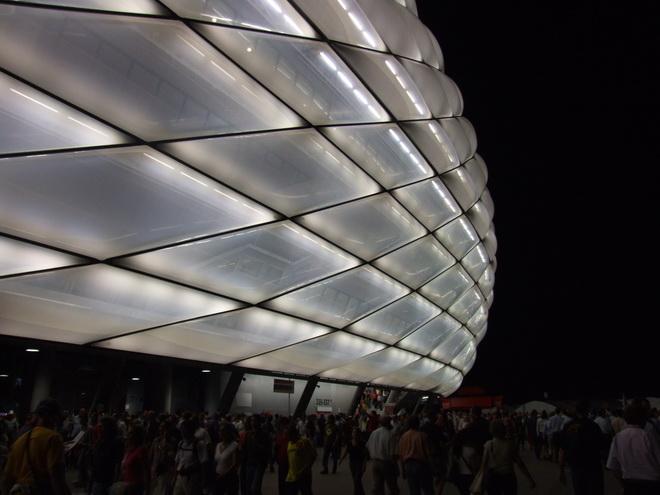 Стадион Альянц Арена (Allianz Arena). Мюнхен